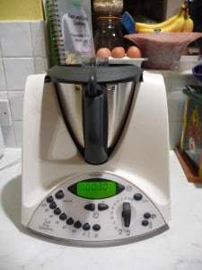 "Raw, Gluten-Free, Allergies"" The answer is Thermomix"