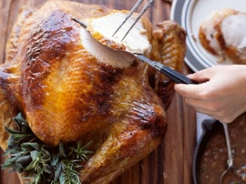 Epicurious.com has brilliant guides for getting you through Thanksgiving