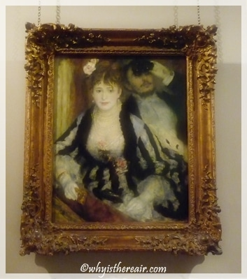 "Renoir's ""La Loge"" graces the Courtauld Collection"