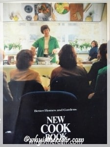 The 1981 Edition of the Better Homes and Gardens New Cook Book