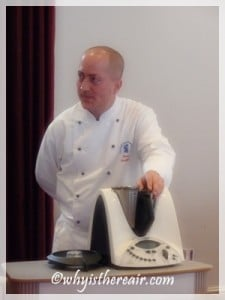 Chef Grant Hawthorne and Thermomix