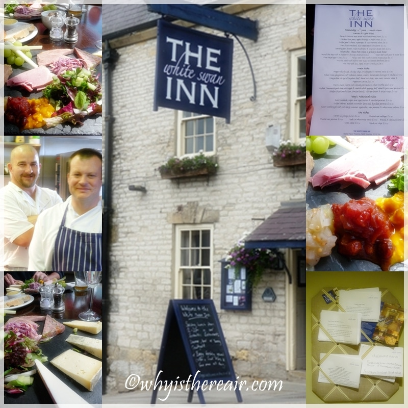 The White Swan Inn in Pickering offers fantastic local food