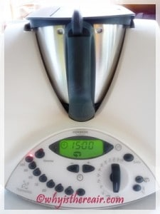 Know Your Thermomix: Reverse Blade Function