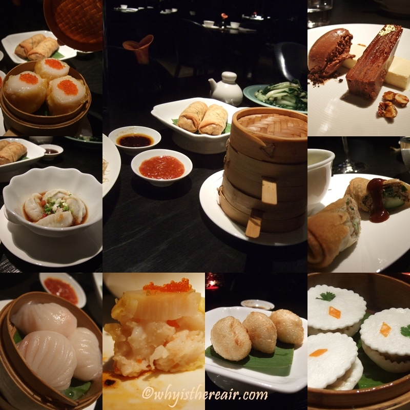 Our classic selection of dim sum included Har Gau, Scallop Shumai, Peking Dumpling, Crispy Duck Roll, Singapore Vermicelli, Pak Choi, Eight Treasure Bun, Five Spicy Croquette.