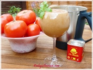 Gazpacho is fast and easy in your Thermomix
