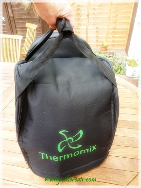 Take your Thermomix on holiday with you in the Thermomix Travel Bag and add a new dimension to your Thermomix experience!