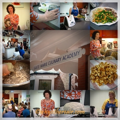 Images from In the Mix Thermomix Cookery Class with Dani Valent at Gordon Ramsay's Tante Marie Cookery School