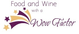 Food and Wine with a Wow Factor logo