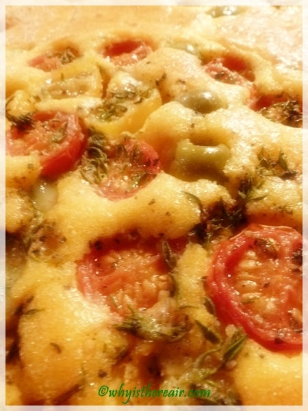 Enjoy this light and tasty gluten free and grain free foccaccia made in the Thermomix