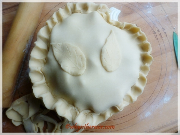 Mom's Apple Pie is ready to freeze or bake