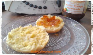 It's amazingly easy to make English Muffins in your Thermomix