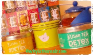 My tiny collection of Kusmi Teas