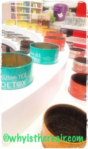 Kusmi Tea's Detox blend and many others are on offer at One Nation Paris and other Kusmi boutiques