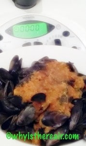 Madame Thermomix's Curried Mussels are fast and easy in the Thermomix and Varoma!
