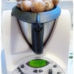 Mushrooms on the Thermomix lid