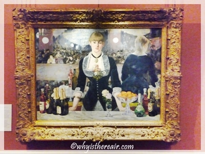 "Manet's ""Bar at the Folies Bergere"" at The Courtauld Gallery"