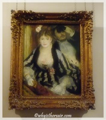 """Renoir's """"La Loge"""" graces the Courtauld Collection"""