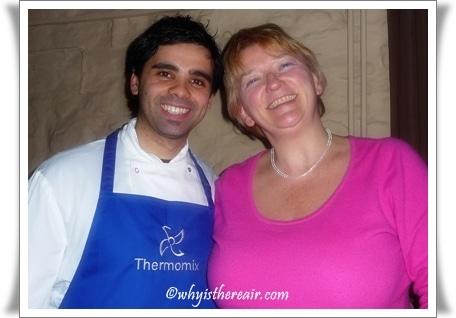 Madame Thermomix with Chef Valentino Gentile of La Luna
