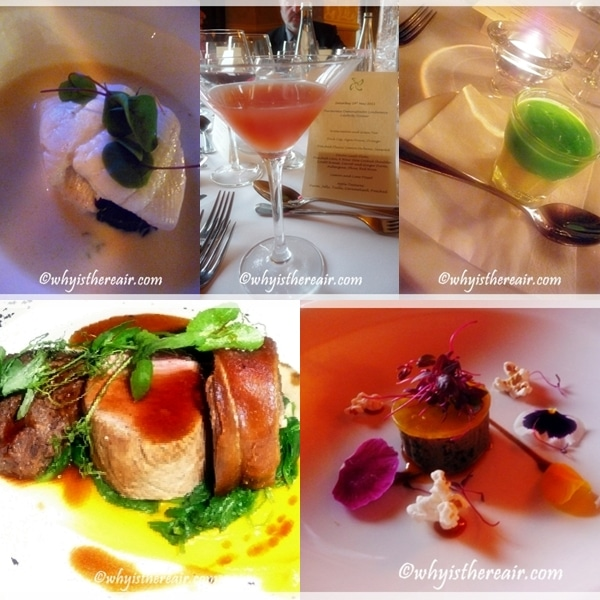 James Knight-Pacheco's Celebrity Thermomix Dinner