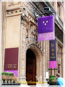Zaika Indian Restaurant on London's Kensington High Street