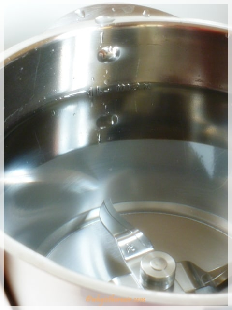 Fill your Thermomix bowl with 2 litres of water