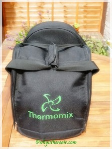The Thermomix Travel Bag will protect your investment while you take it with you