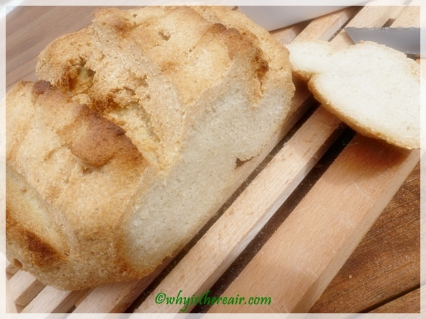 Look at the beautiful crumb on Quirky Cooking's Gluten Free Artisan Bread