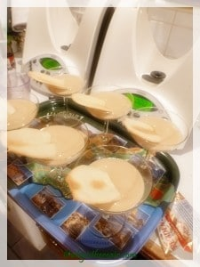 I used my two Thermomixes during our dinner party and one of the dishes I made was Parma-style Zabaione