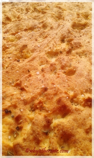 Lesley Collins says this Thermomix Gluten Free Focaccia makes a great pizza base, and it certainly looks like a tasty one!