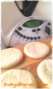Look at these beautiful babies! Thermomix English Muffins are absolutely delicious and very versatile